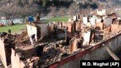 Պակիստան - Հերթական մարտական գործողությունների հետևանքով ավերածություններ Քաշմիրում, արխիվ