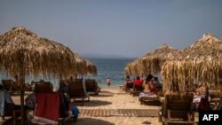Архивска фотографија- плажа во Грција, во близина на Атина