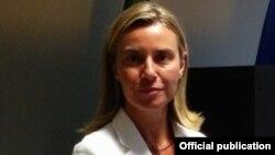 Шефицата на италијанската дипломатија Фредерика Могерини.