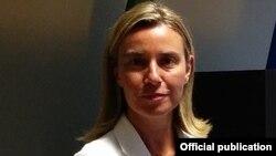 Италијанската министерка за надворешни работи Федерика Могерини