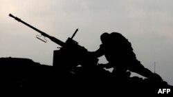 اسرائیل نیروهای خود در مرز با غزه را تقویت کرده است (در تصویر یک موضع ارتش اسرائیل در مرز غزه)