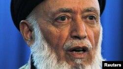 Бурхануддин Раббани. Кабул, 14 қазан 2010 жыл.
