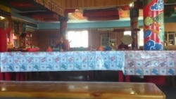 У будысцкім храме
