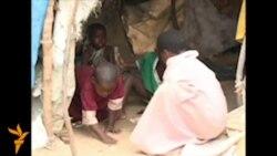 Лагерь беженцев в Сомали