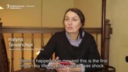 Briefly: Halyna Tereshchuk, RFE/RL Ukrainian Service Correspondent
