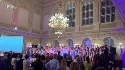 У Празі в палаці культури Жофін лунає український «Щедрик»