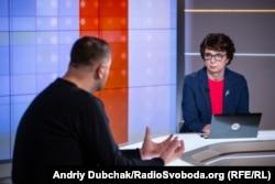 Інна Кузнецова, ведуча програми «Суботнє інтерв'ю»
