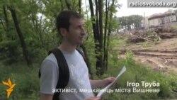 Зелені зони Вишневого відступають перед забудовами