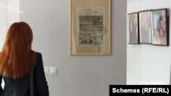 Видання Kárpáti Igaz Szó в будівлі офісу Демократичної спілки угорців