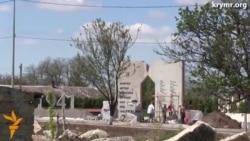 Qırımda mayıs 9 kününe «Qızıl» memorialınıñ quruculığı ile yetiştirmey bileler