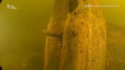 Гідроархеологи досліджують старовинні кораблі, знайдені у дніпрових водах на Херсонщині