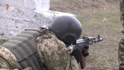 Ukrainian Conscripts Train In Zaporizhya