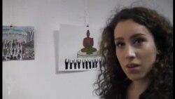 """""""Art for Democracy"""" yarışmasının qalibləri mükafatlandırıldı..."""