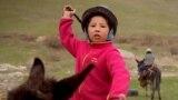 Кыргызстан. Может ли женщина заниматься козлодранием?