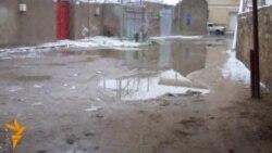 Şüvəlanda kanalizasiya problemi