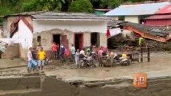 Десятки человек погибли при оползне в Колумбии