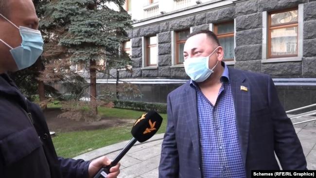 «Схеми» поцікавилися в Олександра Гереги, до кого він прийшов на Банкову