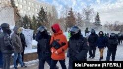 Задержания в Самаре 31 января