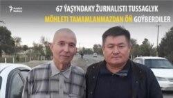 Özbek žurnalisti azatlyga goýberildi