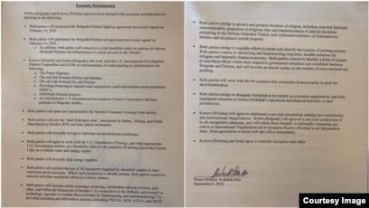 Çfarë përmban marrëveshja e nënshkruar në Uashington?