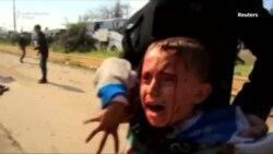Napad na konvoj autobusa u Siriji