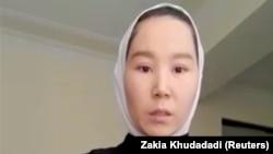 Afghan taekwondo athlete Zakia Khudadadi
