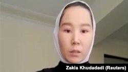 Таэквондистка из Афганистана Закия Худадади, участница Паралимпийских игр в Токио