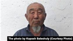 Переехавший из Китая в Казахстан казах Салеш Капашулы