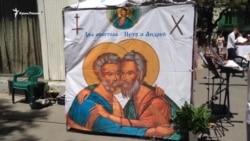 Католической общине Севастополя передали в собственность здание костела (видео)