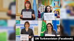 BMG-niň Türkmenistandaky edaralarynyň işgärleri.