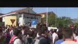Prosvjedi u Širokom Brijegu