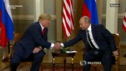 Tramp Putinu: 'Sjajno je biti sa Vama'
