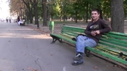 Украинский военнослужащий в плену у сепаратистов