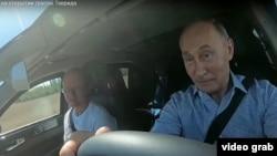 """Путин первым опробовал трассу """"Таврида"""". 27 августа 2020 года"""