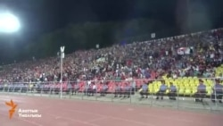 Футбол: Кыргызстан-Казакстан 2-0