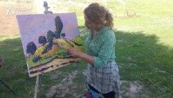 Ўзбек Ван Гоги: Қишда ҳам қуëш суратини чизаман