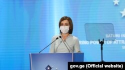 Майя Санду, президент Молдовы