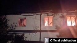 Пожар в Бахчисарайском районе, ночь с 8 на 9 мая 2021 года
