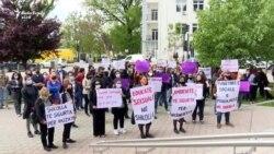 Protestë në Prishtinë për sigurinë e vajzave në shkolla
