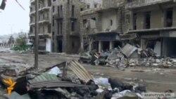 Հալեպի հայկական թաղամասերի հրթիռակոծումները շարունակվում են
