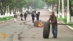 У Слов'янську будують барикади