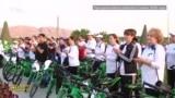Праздник во время пандемии. В Туркменистане отпраздновали День велосипеда