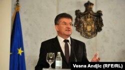 Мирослав Лајчак, специјален пратеник на Европската унија за дијалог Белград-Приштина и други регионални прашања од Западен Балкан, Белград, 15 октомври 2020 година.