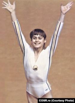 Nadia Comăneci, Montreal, 1976