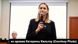"""Координатор """"Голоса"""" на Алтае Катерина Кильтау"""