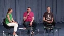 Sentsov ve Kolçenkonıñ birinci matbuat konferentsiyasından eñ meraqlısı (video)
