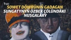 Gadagan sungatyň Özbegistandaky ajaýyp nusgalary