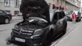 Cars Torched In Moscow, But Film Shown In Vladivostok