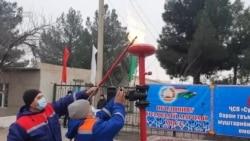 Гази табии Узбекистон ба вилояти Суғд расид