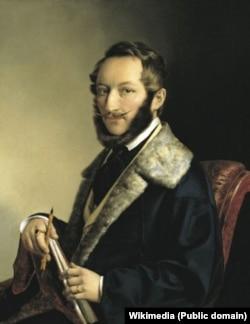 Barabás Miklós, autoportret.